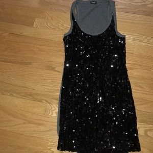 Dolce & Gabbana sequin coverup/tank